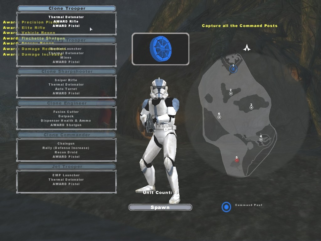 Clone Soldiers http://customstarwars.x3.hu/bf2/battlefront2_clone_set.htm