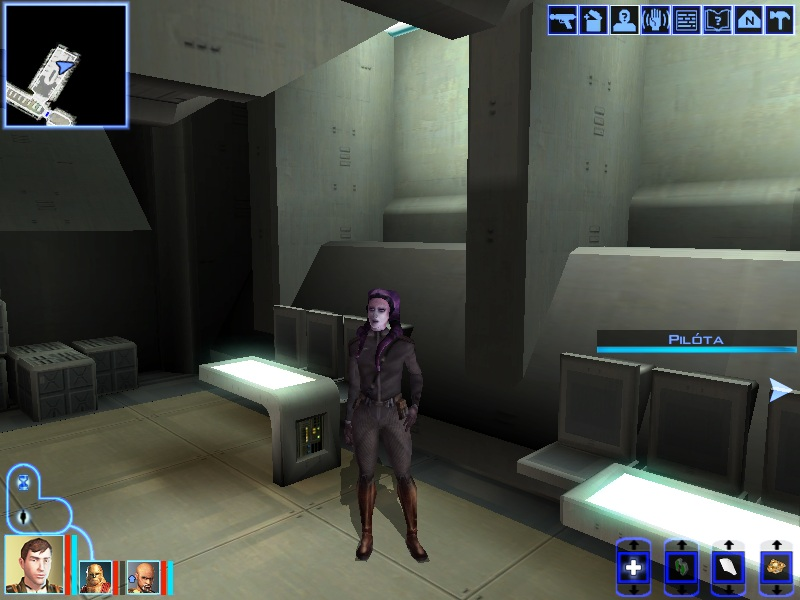 Yuthura Ban was selecting the strongest hopefuls for the future Sith academy training in the cantina of Dreshdae