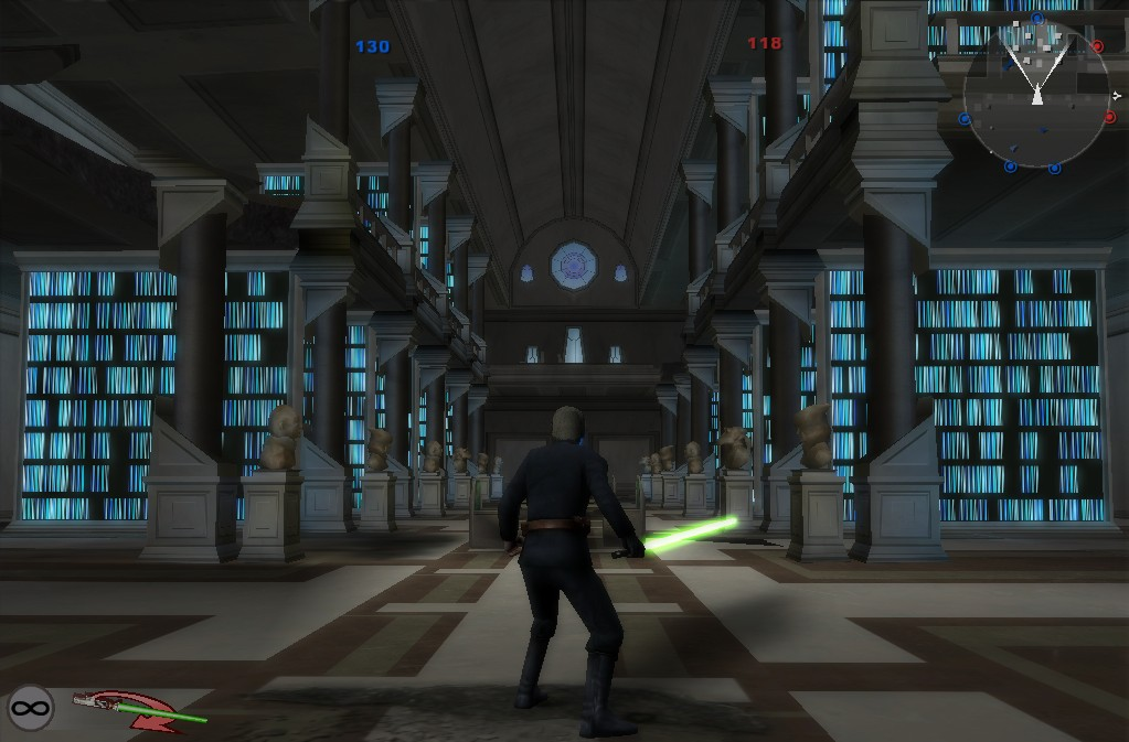 luke skywalker in bf2 jedi archive